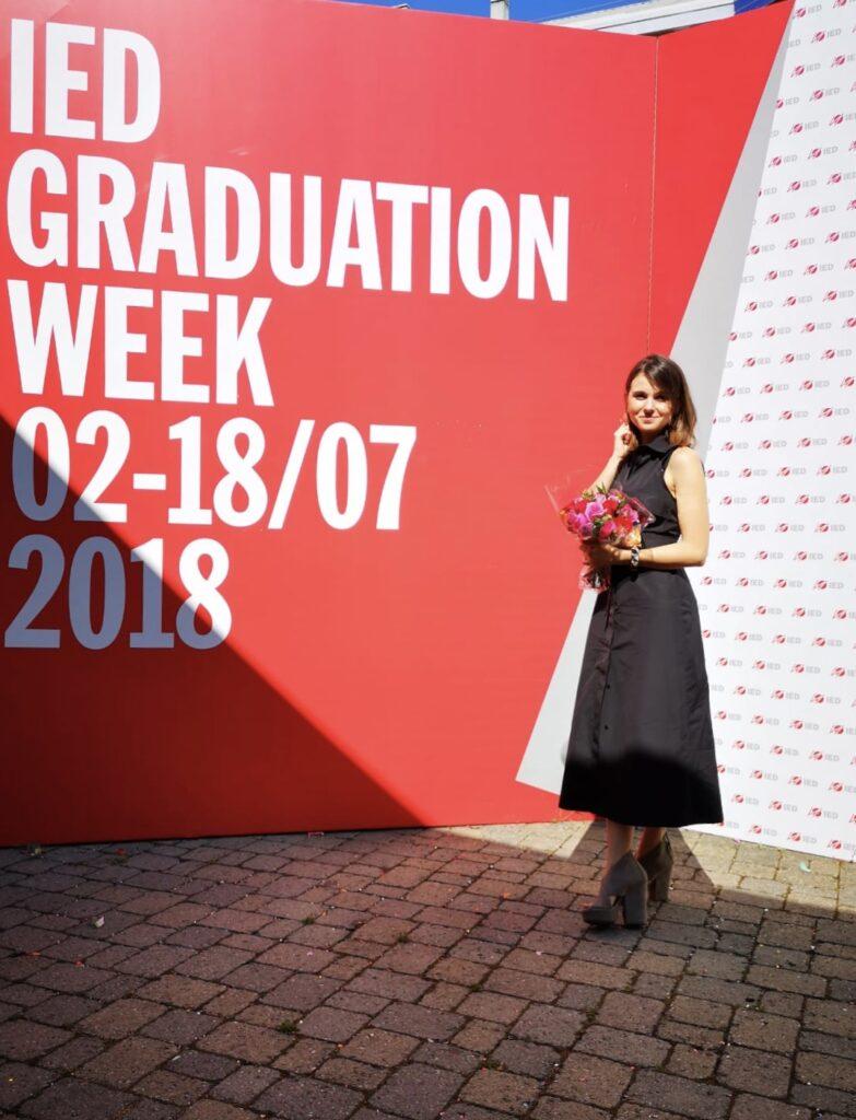 Alina Sidorkina about IED education FASHION DESIGN